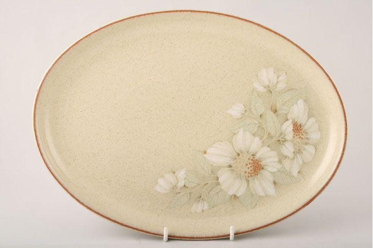 Denby - Daybreak - Oval Plate / Platter