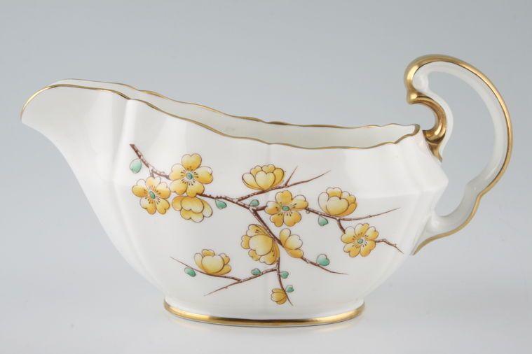 Adderley - Chinese Blossom - Yellow - Sauce Boat
