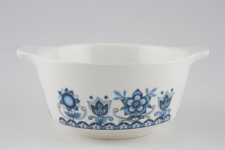 Johnson Brothers - Tudor Blue - Soup Cup - eared