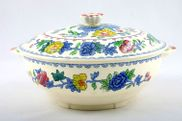 "Masons - Regency - Vegetable Tureen with Lid - 7 1/2"" - Round"