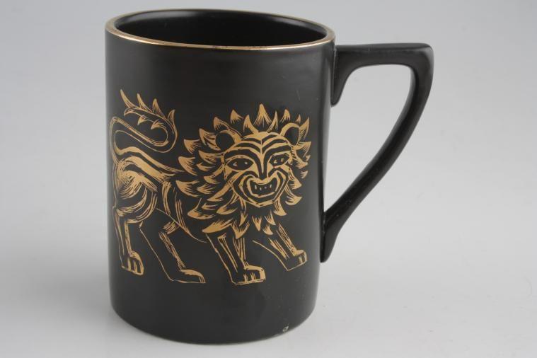 Portmeirion - Golden Lion - Coffee/Espresso Can
