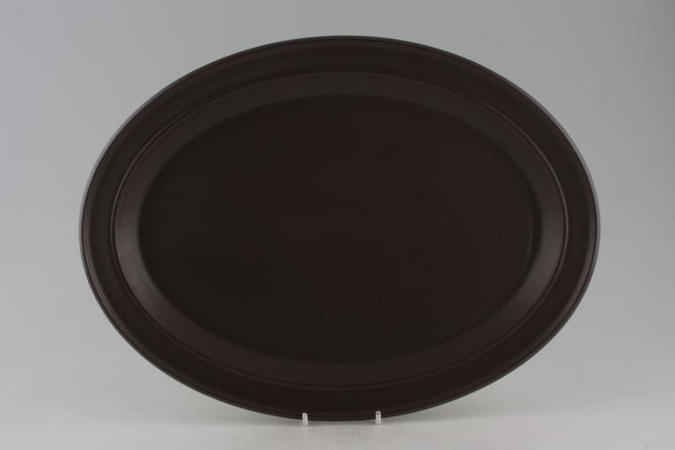 Portmeirion - Meridian - Brown - Oval Plate / Platter