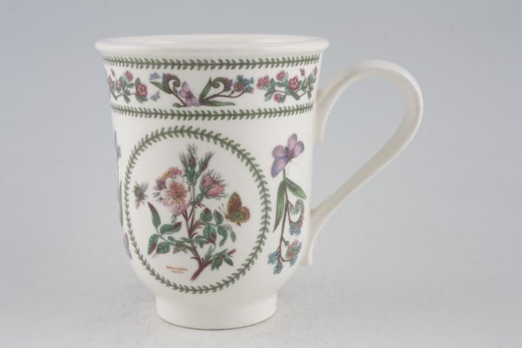 Portmeirion - Variations - Botanic Garden - Milk Jug - Rosa Canina - Dog Rose - Bell Shape