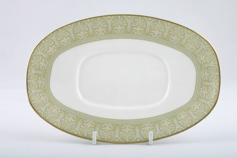 Royal Doulton - Sonnet - H5012 - Sauce Boat Stand - Oval