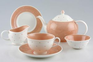 Replacement Susie Cooper - Raised Spot - Salmon Pink
