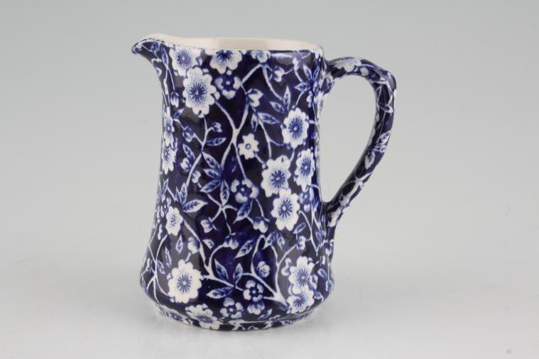 Burleigh - Calico Blue - Cream Jug - Tall