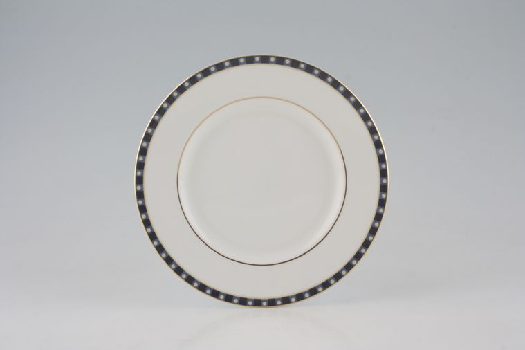 Wedgwood - Aphrodite - Tea / Side / Bread & Butter Plate - Thin band of dot pattern
