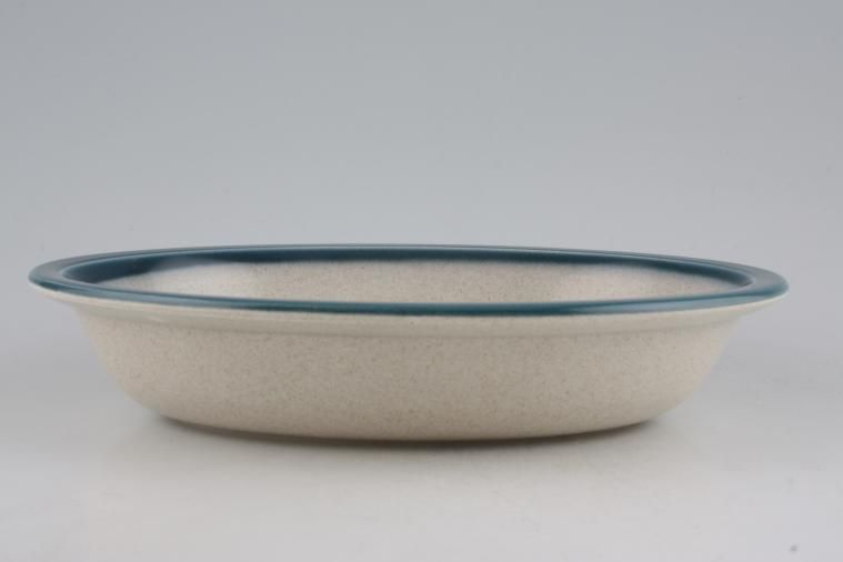 Wedgwood - Blue Pacific - Old Style - Vegetable Dish (Open) - Oval / Rimmed
