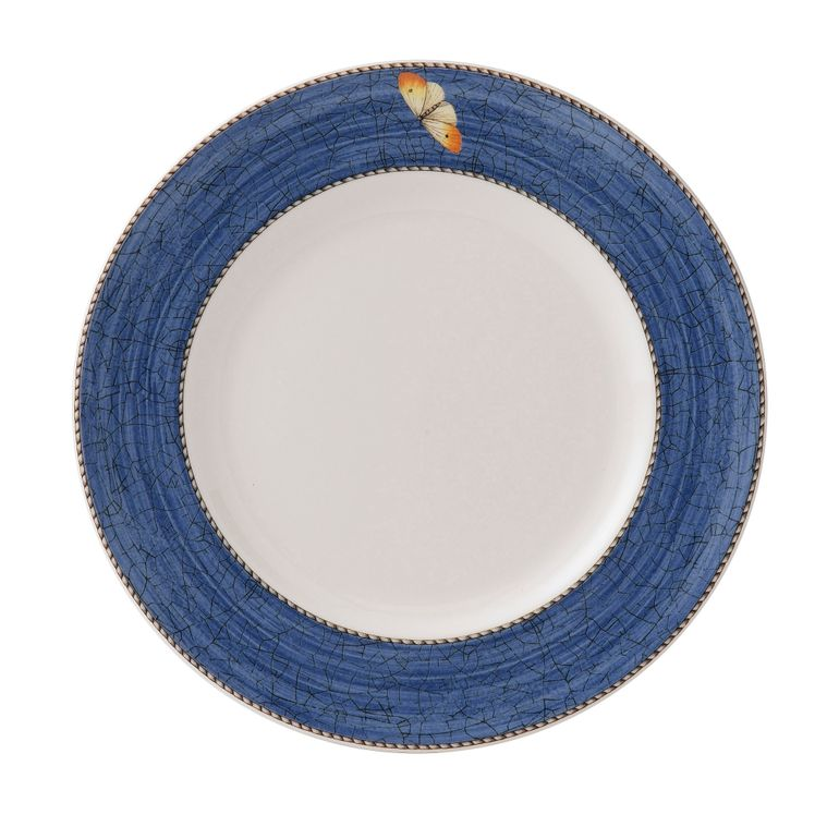 Wedgwood - Sarah's Garden - Blue and Green - Dinner Plate - Blue - Shades may vary